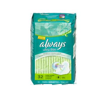 Image 4 du produit Always - Serviettes ultra-minces, 32 unités