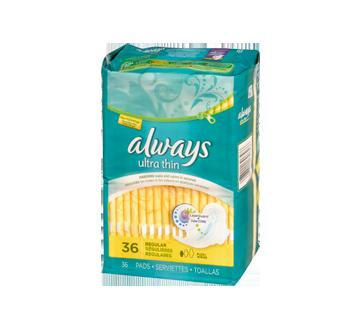 Image 2 du produit Always - Serviettes ultra-minces, 36 unités