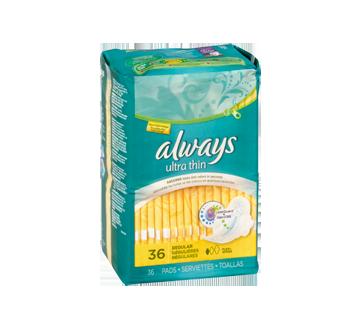 Image 3 du produit Always - Serviettes ultra-minces, 36 unités