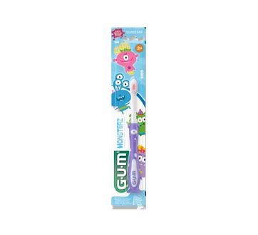 Monsterz brosse à dents pour enfants, 1 unité