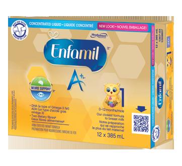 Enfamil A+ liquide concentré préparation pour nourrissons, 12 x 385 ml