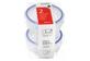 Vignette du produit Home Exclusives - Contenants pour aliments avec couvercles, 180 ml, 2 unités
