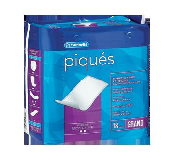 Image du produit Personnelle - Piqués, 18 unités