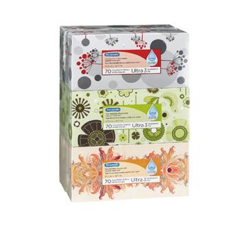Image 2 du produit Personnelle - Mouchoirs blancs avec lotion, 6 x 70 unités