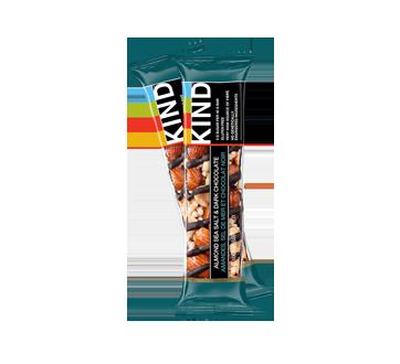 Barre Kind, amandes, chocolat et sel de mer, 40 g