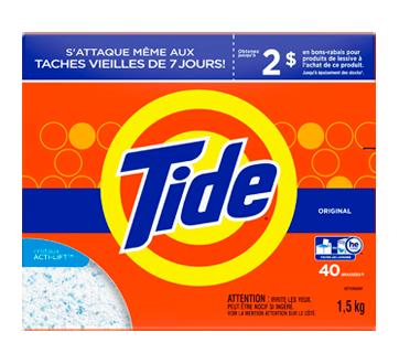 Détergent à lessive en poudre, 1,5 kg, parfum original