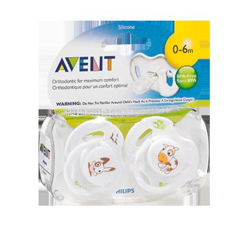 Image 2 du produit Avent - Suces orthodontiques sans BPA, 2 unités