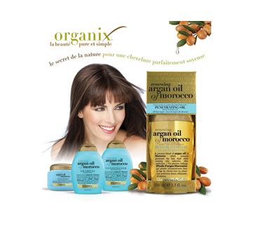 Image 2 du produit OGX - Huile d'argan du Maroc, shampoing régénérant, 385 ml