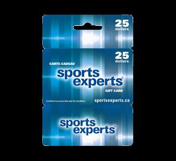 Carte-cadeau Sports Experts de 25$, 1 unité
