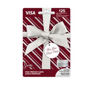 Carte-cadeau Vanilla Visa de 25$, 1 unité