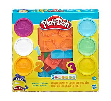 Play-Doh nombres de 6couleurs de pâte atoxique, 1 unité