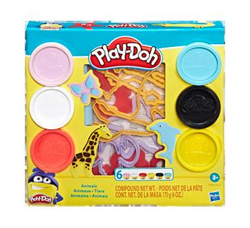 Play-Doh outils avec animaux de 6couleurs de pâte atoxique, 1 unité