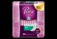 Vignette du produit Poise - Serviettes pour incontinence, absorption légère, 30 unités, régulier