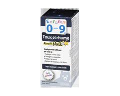 Image du produit Homeocan - Enfants 0-9 Toux et Rhume sirop formule nuit, 100 ml