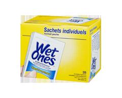 Image du produit Wet Ones - Lingettes antibactériennes, parfum d'agrumes , 28 serviettes
