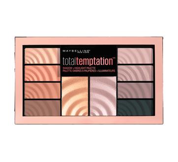 Total Temptation palette d'ombres à paupières + illuminateurs, 12 g