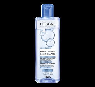 Eau micellaire démaquillant hydrofuge et nettoyant visage , 400 ml, tous les types de peaux