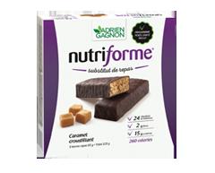 Image du produit Adrien Gagnon - Nutriforme barres de remplacement de repas, 5 unités, caramel croustillant