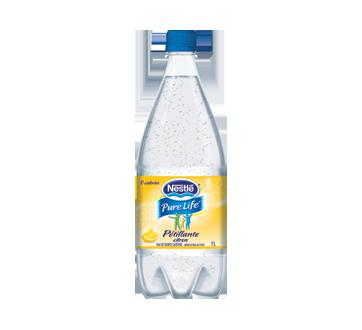 Eau pétillante citron, 1 L