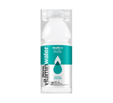 Boisson à l'eau enrichie de nutriments, 591 ml, limonade