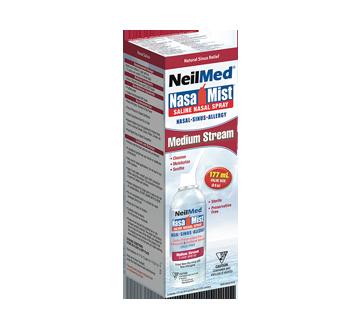 Image 2 du produit NeilMed - Nasa Mist solution saline en vaporisateur jet moyen, 177 ml