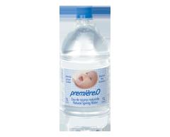 Image du produit Première-O - Eau de source naturelle stérile pour bébé, 1 L