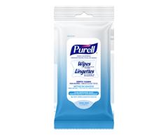 Image du produit Purell - Lingettes désinfectantes pour les mains, 10 unités