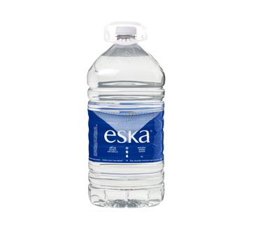 Image du produit ESKA Eaux Vives Waters Inc. - ESKA eau de source naturelle, 4 L, naturelle