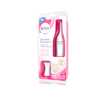 Image 2 du produit Veet - Sensitive Precision tondeuse électrique visage, bikini et aisselle, 1 unité