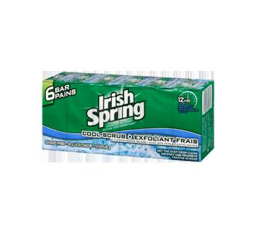Pain de savon exfoliant frais, 6 x 90 g