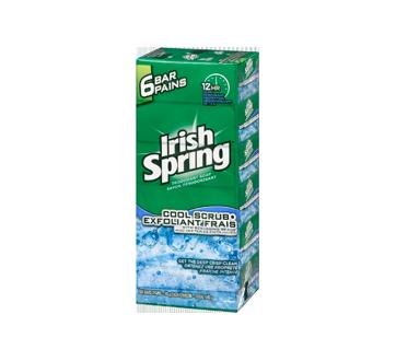 Image 4 du produit Irish Spring - Pain de savon exfoliant frais, 6 x 90 g