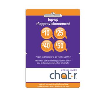 Chat R Mobile carte de réapprovisionnement de 50 $, 1 unité