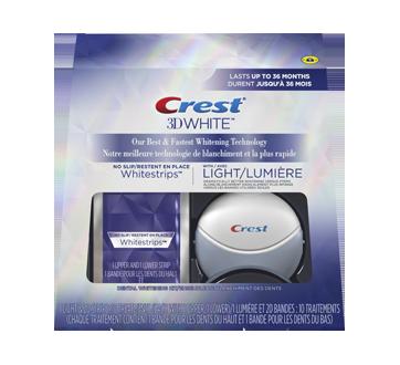 Image 2 du produit Crest - 3D White Whitestrips avec lumière, 10 unités
