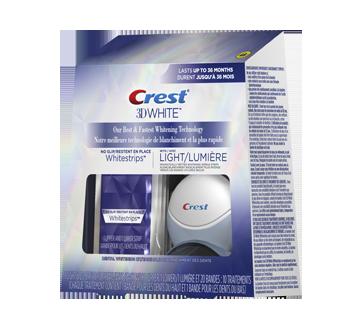 Image 3 du produit Crest - 3D White Whitestrips avec lumière, 10 unités