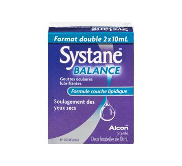 Image 3 du produit Systane - Balance gouttes oculaires lubrifiantes, 2 x 10 ml