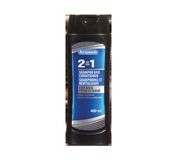 Shampooing et revilatisant 2-en-1 pour homme, 400 ml