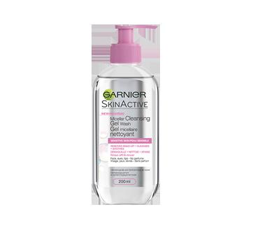 SkinActive gel micellaire nettoyant, 200 ml, peaux sensibles