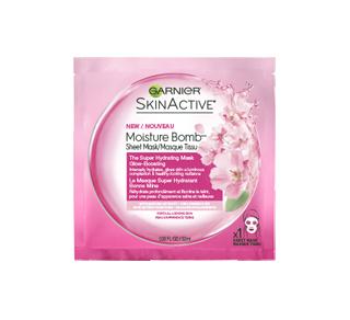 SkinActive Moisture Bomb masque tissu super hydratant bonne mine, 32 ml