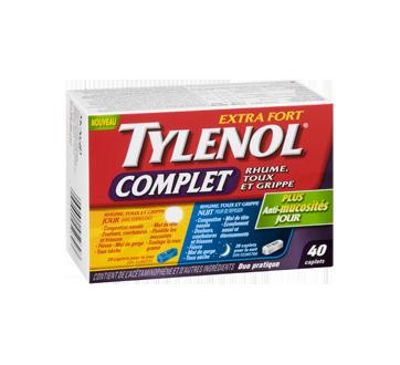 Image 2 du produit Tylenol - TylenolComplet Rhume, Toux et Grippe extra fort formules jour/nuit, 40 unités
