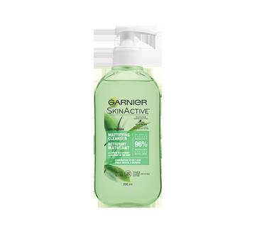 SkinActive nettoyant matifiant, 200 ml, peaux mixtes à grasses