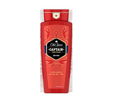 Red Collection nettoyant pour le corps pour hommes, 473 ml, Captain