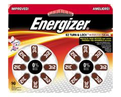 Image du produit Energizer - Piles pour prothèses auditives, 16 piles, AZ312DP16