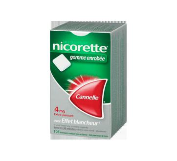 Image 1 du produit Nicorette - Nicorette gomme, 105 unités, 4 mg, cannelle
