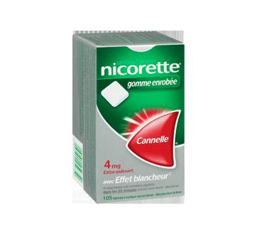 Image 2 du produit Nicorette - Nicorette gomme, 105 unités, 4 mg, cannelle