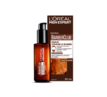 Men Expert BarberClub huile visage & barbe, 30 ml