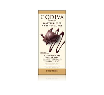 Chefs-D'œuvre cœur à la ganache au chocolat noir, 85 g