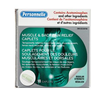 Image du produit Personnelle - Soulagement des douleurs musculaires et courbatures, 18 unités