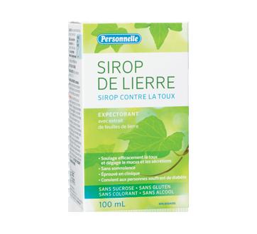 Image du produit Personnelle - Sirop de lierre, 100 ml