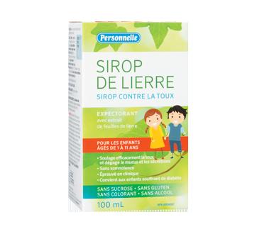 Image du produit Personnelle - Sirop de lierre pour enfants, 100 ml