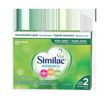 Similac Go & Grow avec oméga-3 et oméga-6, en liquide concentré, 12 x 385 ml